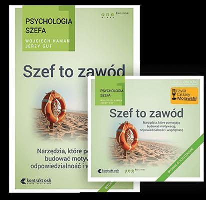 Szef to zawód. Książka i audiobook Wojciech Haman i Jerzy Gut